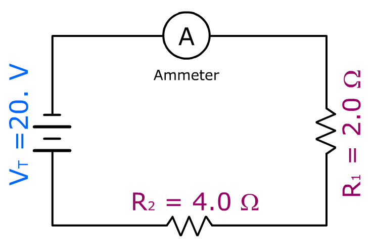 Series Circuit Problems with Solutions - Show Me The Physics